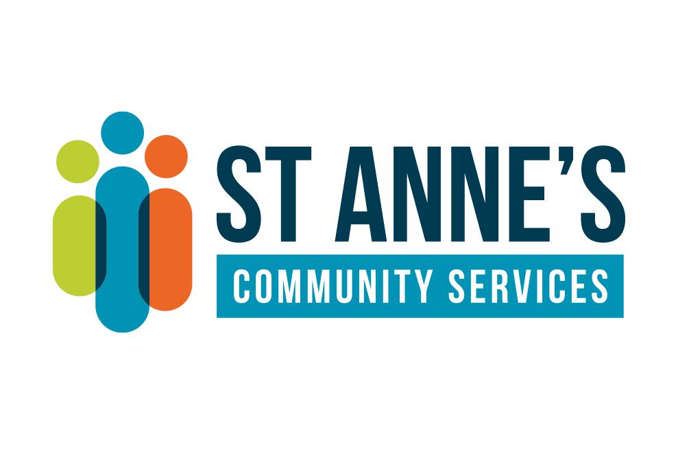 St Anne's Community Service Logo - Michael